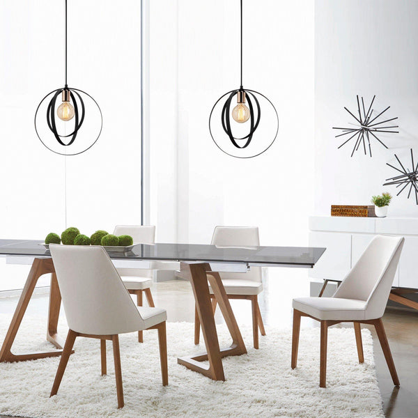 Electron Pendant Ceiling Light Black-Modern Furniture Deals