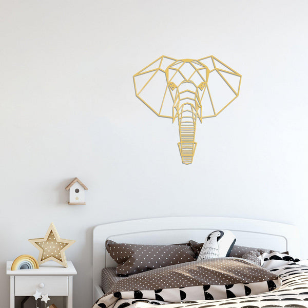 ELEPHANT 2 - GOLD Wall Art-Metal Wall Art-[sale]-[design]-[modern]-Modern Furniture Deals