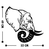 ELEPHANT 4 Wall Art-Metal Wall Art-[sale]-[design]-[modern]-Modern Furniture Deals