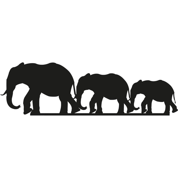 ELEPHANTS Wall Art-Metal Wall Art-[sale]-[design]-[modern]-Modern Furniture Deals