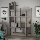 Ety Bookcase-White-A.White-Modern Furniture Deals