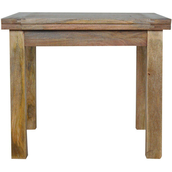 Extandable Dining Table, Solid Wood-Modern Furniture Deals