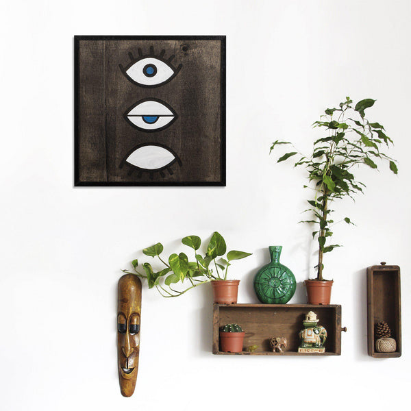 Eyes Wall Art-Metal Wall Art-[sale]-[design]-[modern]-Modern Furniture Deals