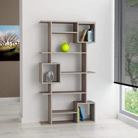 Featured Bookcase-Mocha-Modern Furniture Deals