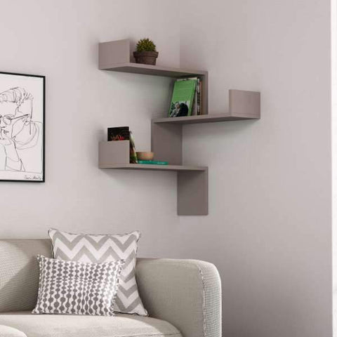 Featured Corner Shelf-White-Modern Furniture Deals