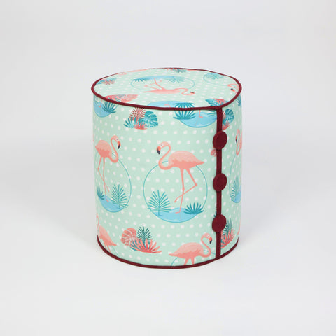 Flamingo Pouffe-FURNITURE>POUFFES-[sale]-[design]-[modern]-Modern Furniture Deals