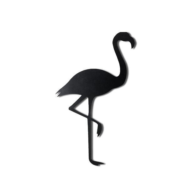 FLAMINGO SILHOUETTE Wall Art-Metal Wall Art-[sale]-[design]-[modern]-Modern Furniture Deals