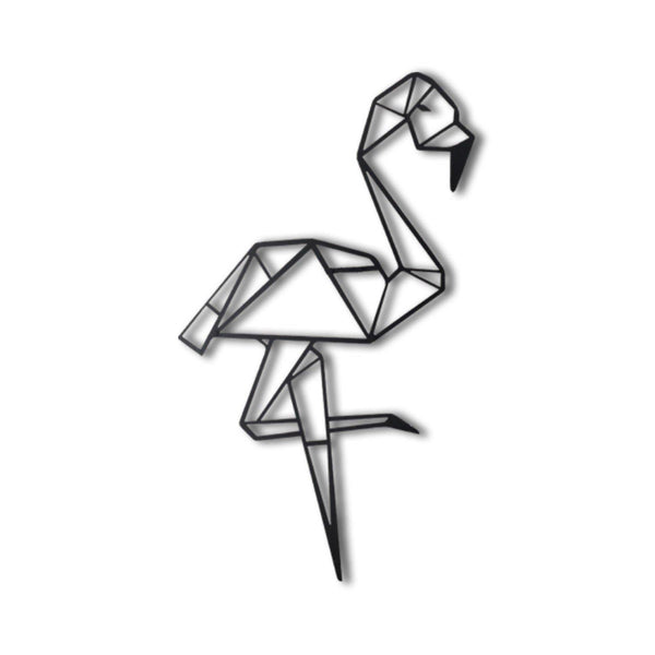 FLAMINGO Wall Art-Metal Wall Art-[sale]-[design]-[modern]-Modern Furniture Deals