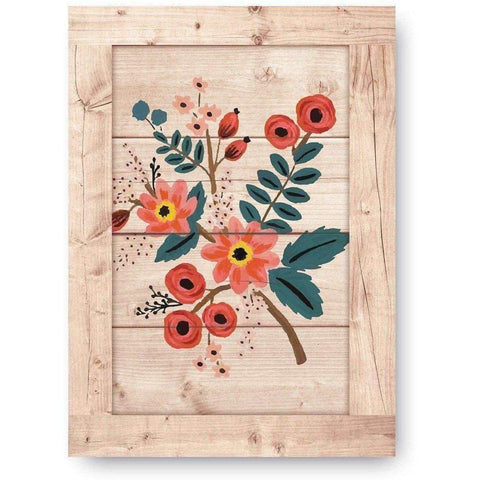 Floral Wooden Print-Modern Furniture Deals