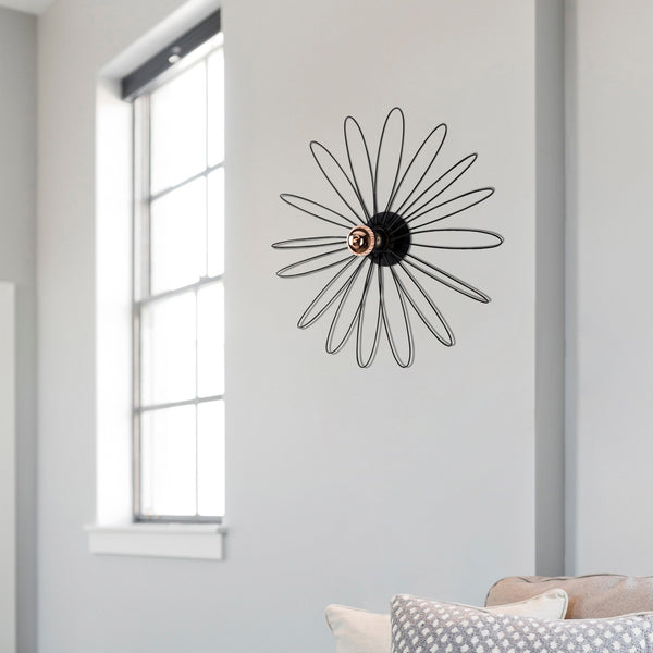 FLOWER Black Wall Light-Wall Light-[sale]-[design]-[modern]-Modern Furniture Deals