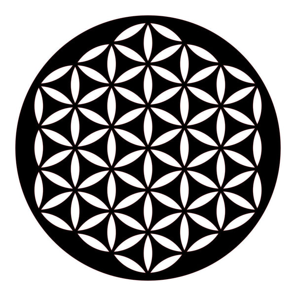 FLOWER OF LIFE 2 Wall Art-Metal Wall Art-[sale]-[design]-[modern]-Modern Furniture Deals