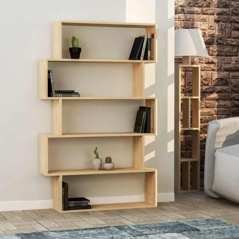 Flox Bookcase-Oak-Modern Furniture Deals