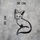 FOX 3 Wall Art-Metal Wall Art-[sale]-[design]-[modern]-Modern Furniture Deals
