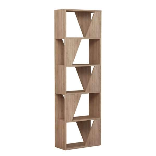 Frap Bookcase-Oak-Modern Furniture Deals