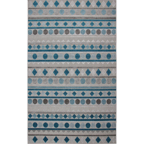 G984 A Rug - Dark Grey-Blue 120X180-Modern Furniture Deals