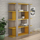Gala Bookcase-White-Modern Furniture Deals