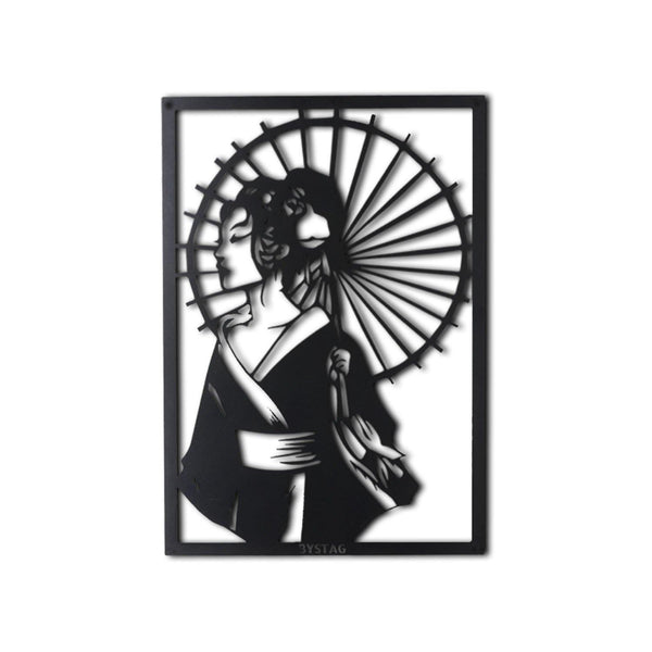 GEISHA Wall Art-Metal Wall Art-[sale]-[design]-[modern]-Modern Furniture Deals
