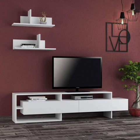 Gina Tv Unit-White-Modern Furniture Deals