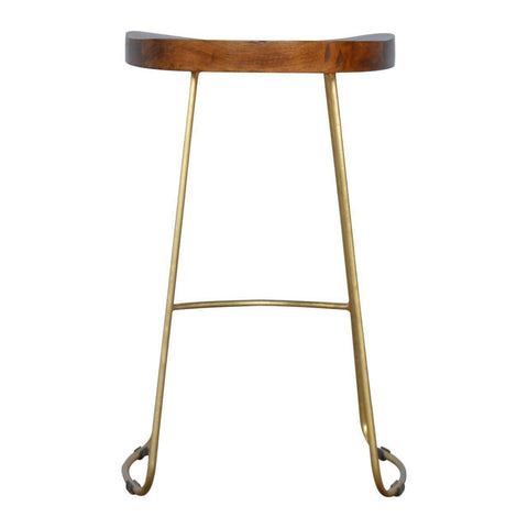 Gold Bar Stool-Modern Furniture Deals