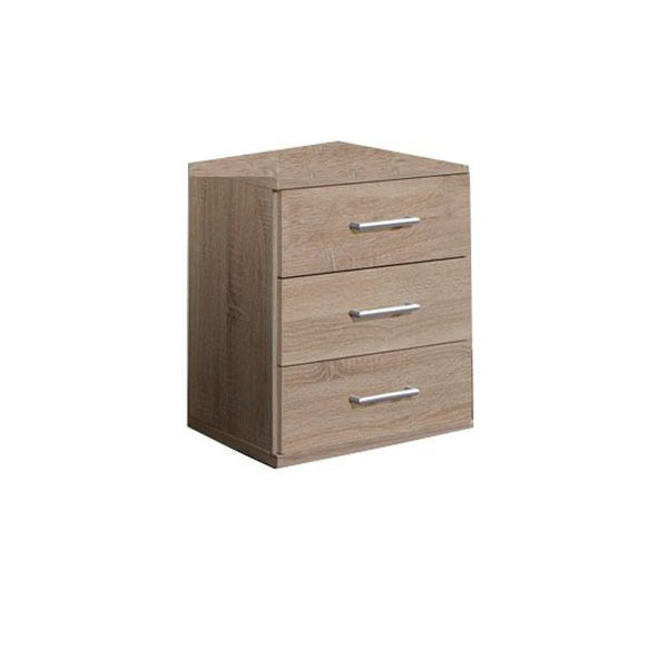 GRAIN Oak 3 Drawer Chest-Modern Furniture Deals