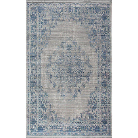 H074 Rug - Blue 200X300-Modern Furniture Deals
