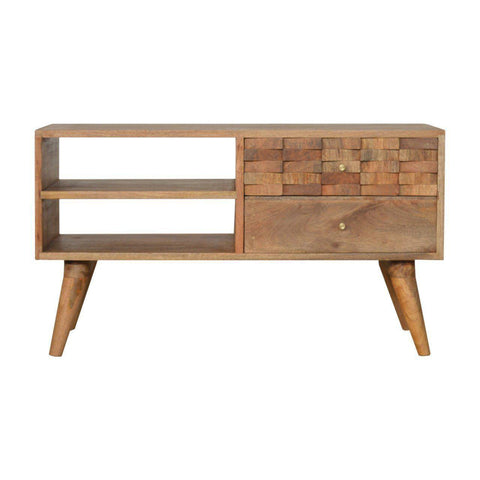 Hand Carved Trunk Tv Unit-Modern Furniture Deals