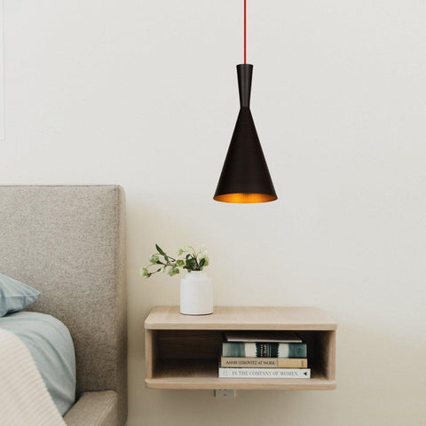 HEDDI Pendulum Ceiling Light Black / Red-Modern Furniture Deals