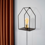 HOME Single Wall Light Black-Wall Light-[sale]-[design]-[modern]-Modern Furniture Deals