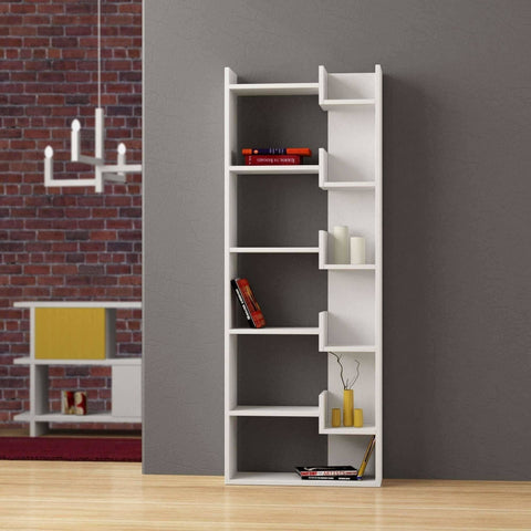 Hoppy Bookcase-White-Modern Furniture Deals