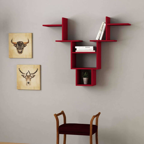Horn Shelf-White-Modern Furniture Deals