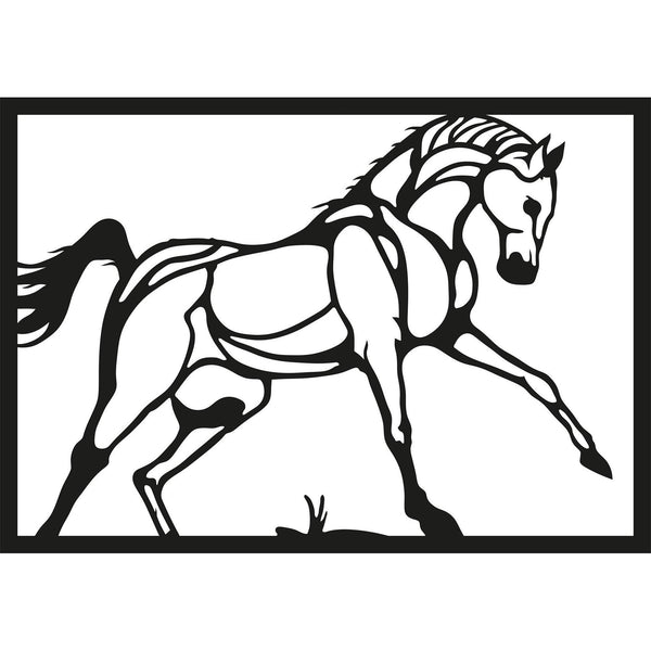 HORSE Wall Art-Metal Wall Art-[sale]-[design]-[modern]-Modern Furniture Deals