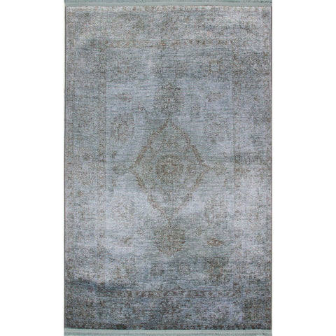 Hr 01 Rug - Aqua 70X300-Modern Furniture Deals