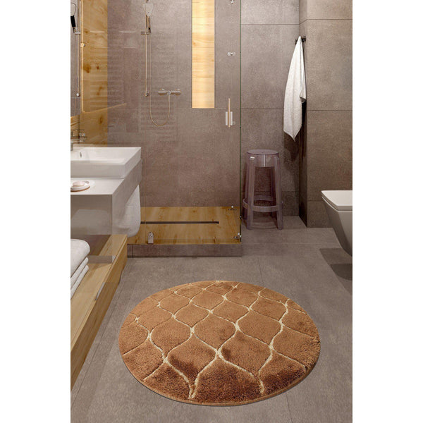 Infinity - Caramel 7 Bath Mat-Bath Mat-[sale]-[design]-[modern]-Modern Furniture Deals