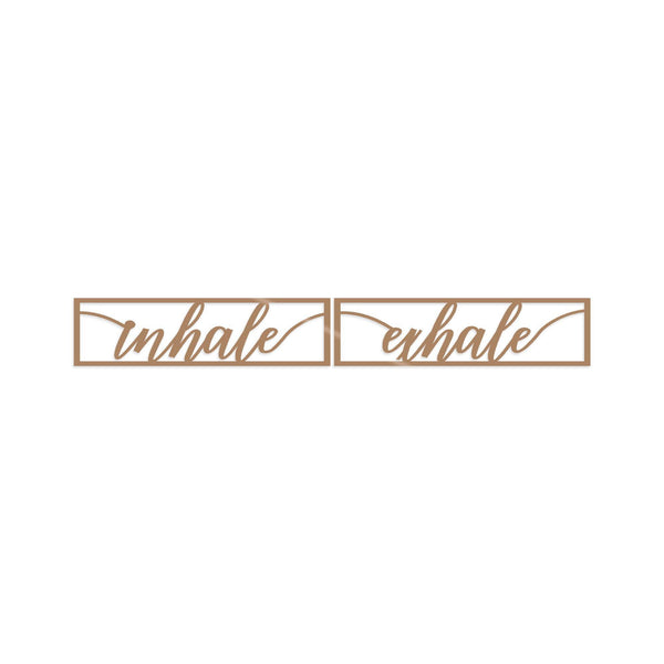 INHALE EXHALE - COPPER Wall Art-Metal Wall Art-[sale]-[design]-[modern]-Modern Furniture Deals