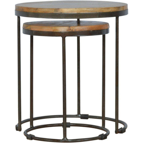 Iron Base Round Stool-Modern Furniture Deals