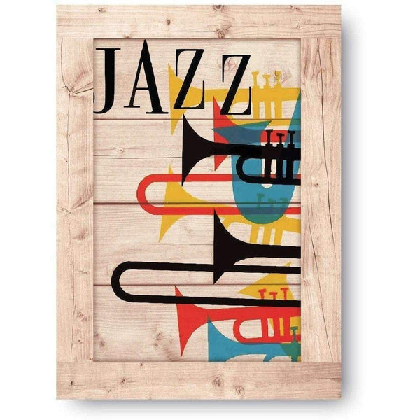 Jazz Wooden Print-Modern Furniture Deals
