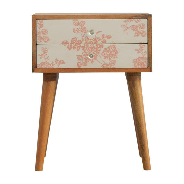 Kenro Pink Bedside-Modern Furniture Deals