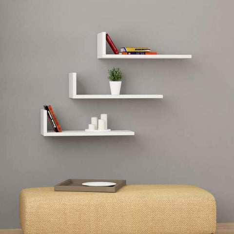 L Shelf-Mustard-Modern Furniture Deals