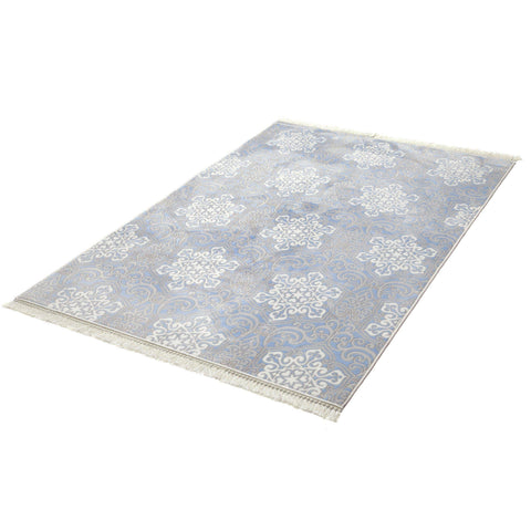 Lea Blue Rug - 150X200-Modern Furniture Deals