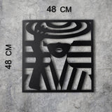 LINE WOMAN Wall Art-Metal Wall Art-[sale]-[design]-[modern]-Modern Furniture Deals