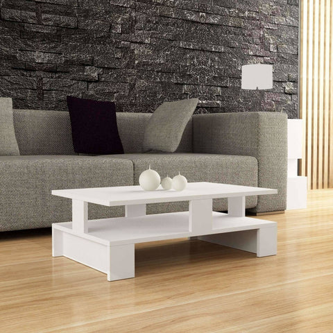 Lorin Coffee Table-White-Modern Furniture Deals