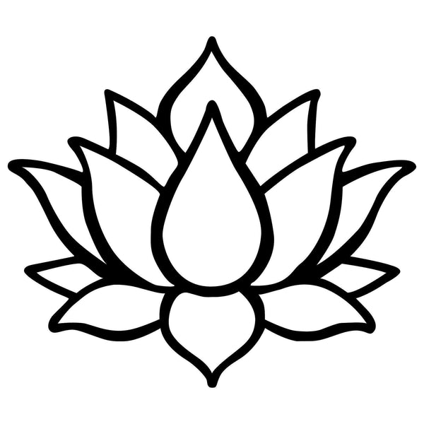 LOTUS FLOWER 1 Wall Art-Metal Wall Art-[sale]-[design]-[modern]-Modern Furniture Deals