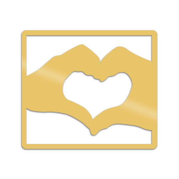 LOVE - GOLD Wall Art-Metal Wall Art-[sale]-[design]-[modern]-Modern Furniture Deals