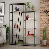 Lowry Bookcase-White-Modern Furniture Deals