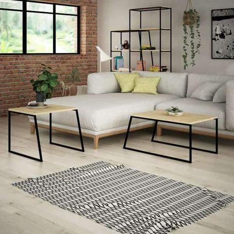 Lowry Nesting Coffee Tables-White-Modern Furniture Deals