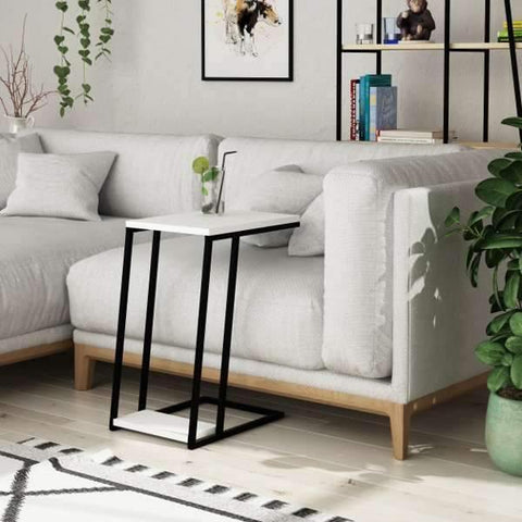 Lowry Sofa Table-White-Modern Furniture Deals