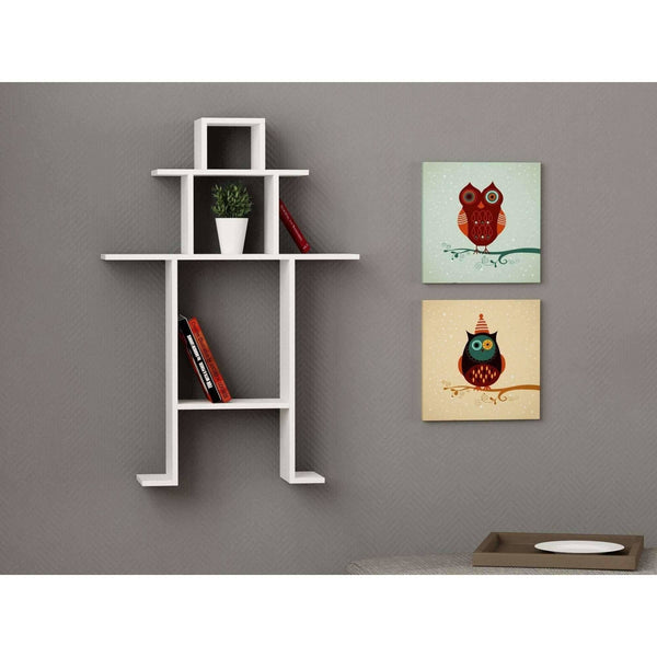 Man Shaped Shelf-White-Modern Furniture Deals