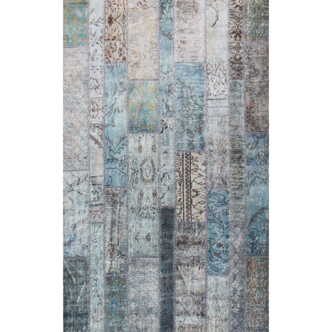 Mase Rug - Aqua 75X300-Modern Furniture Deals