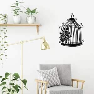 Metal Wall Art Cage-Modern Furniture Deals