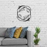 Metal Wall Art Fish-Modern Furniture Deals